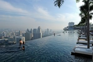 Marina Bay sands Skypark amazing view
