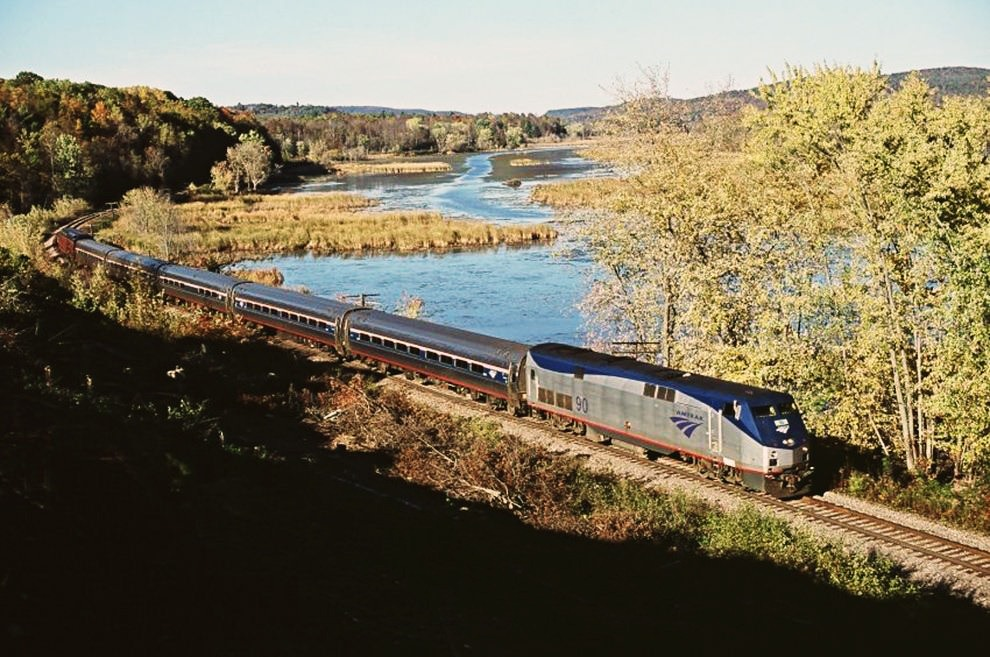 The Amtrak Adirondack