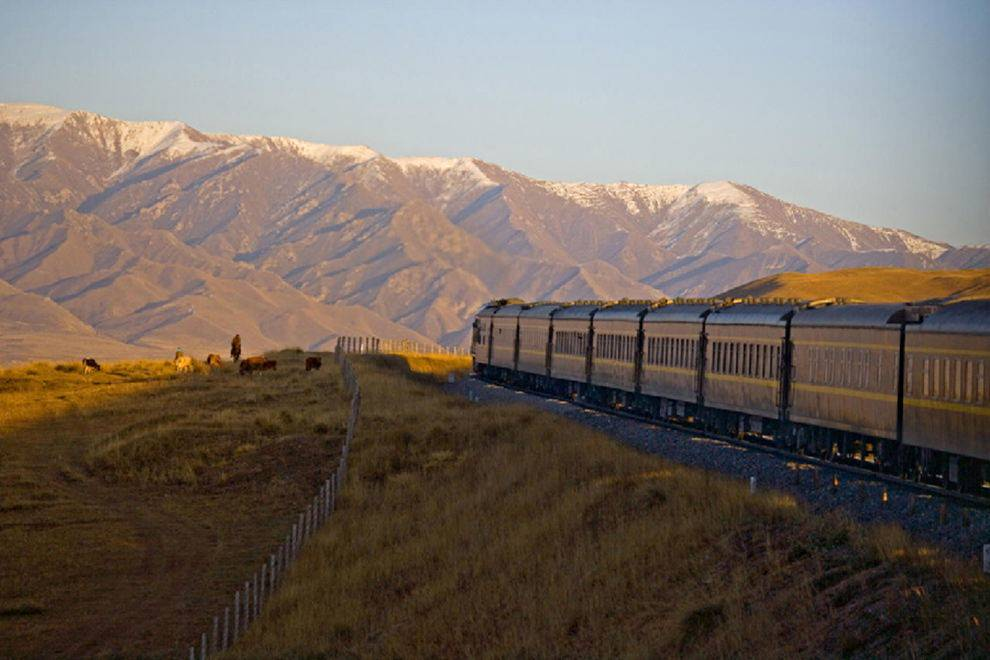 The Golden Eagle Trans-Siberian Railway
