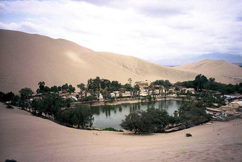 Huacochina Oasis, Ica Region, Peru
