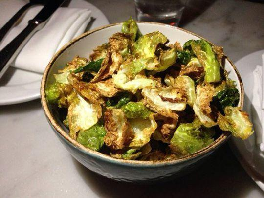 Brussels Sprout Chips