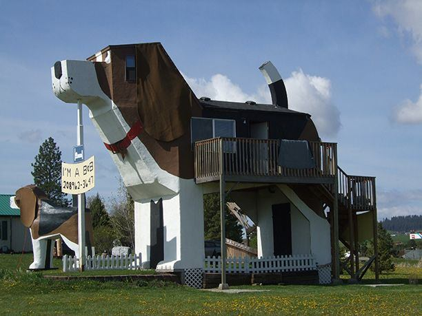 Dog Bark Park Inn, Cottonwood, Idaho, USA