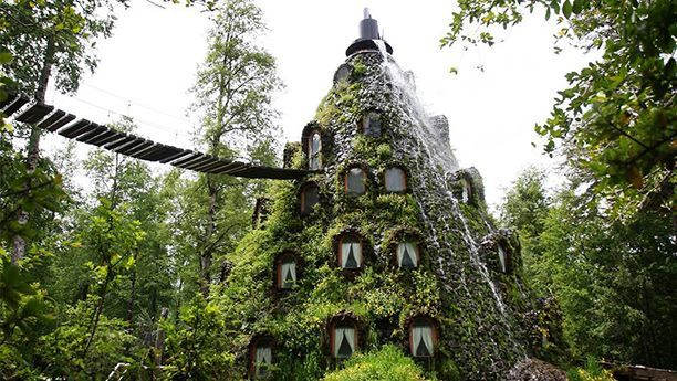 Montaña Mágica Lodge, Panguipulli, Chile