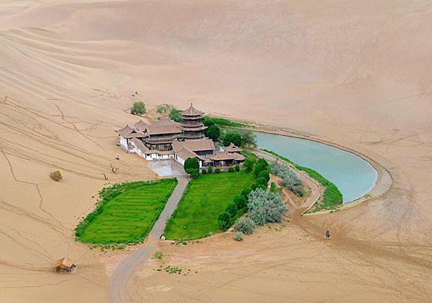Crescent Lake, Gobi Desert, China