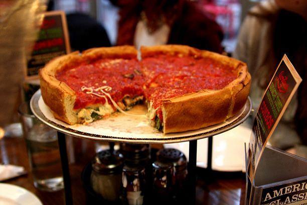 Deep Dish Pizza, My Pie Pizzeria, 2010 N Damen Ave, Chicago-60647