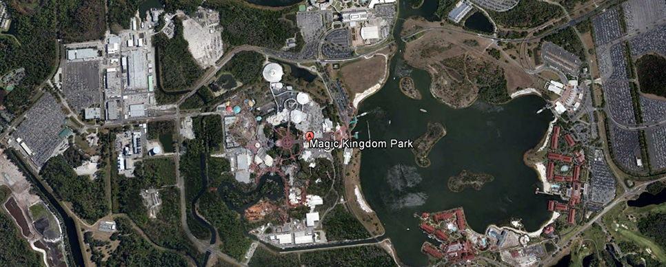 Disneyworld's Magic Kingdom, Orlando, USA