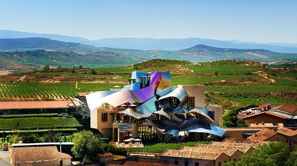 Hotel Marques de Riscal, Elciego, Spain