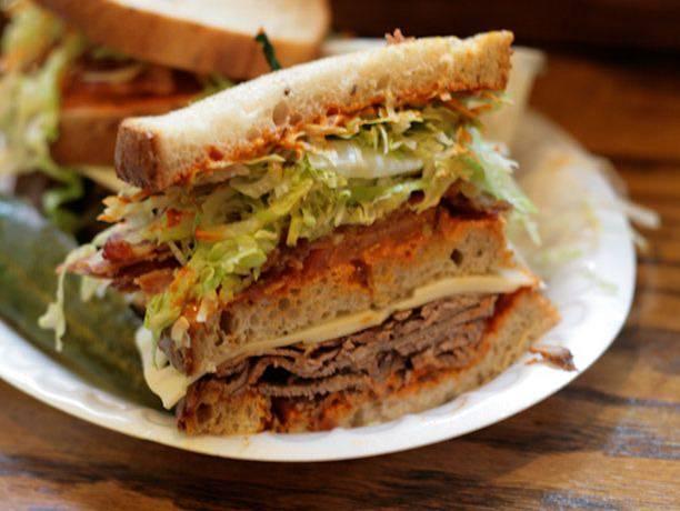 Frenchy's Fantasy Triple Decker Sandwich