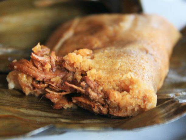 Traditional Spicy Pork Tamale