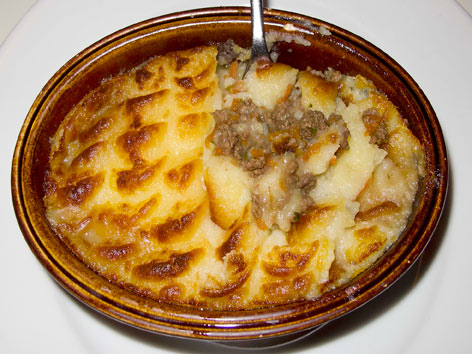 cottage-pie-shepherds-pieCottage pie  At Albion Cafe in London