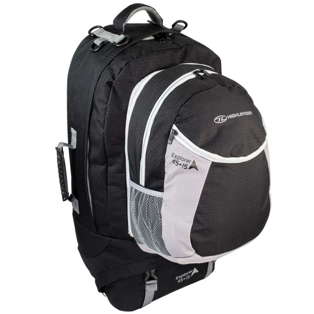Highlander Explorer 45+15L Travel Backpack