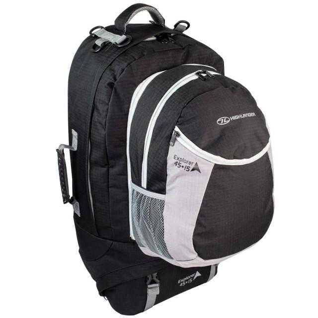 Highlander Explorer 45+15L Travel Backpack