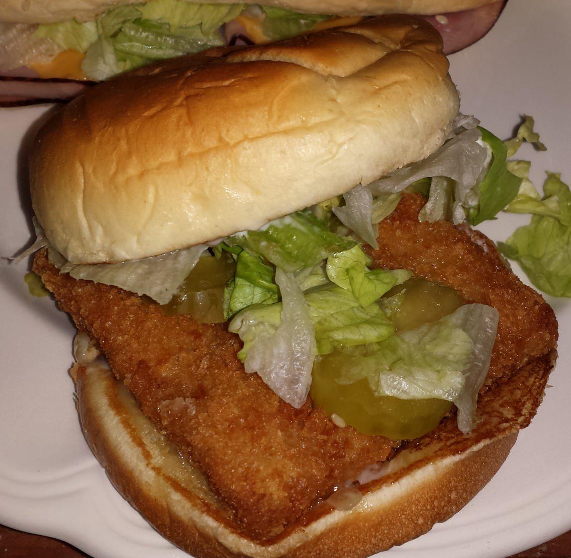 Lawrence Fish Burger