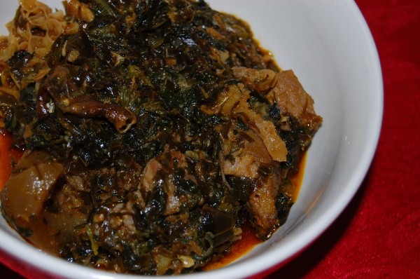 Pictures of Afang Stew