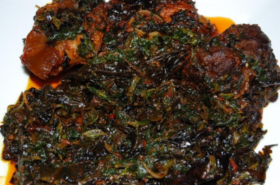 21 traditional nigerian foods to please your appetite like never edikang ikong a typical nigerian signature dish forumfinder Gallery