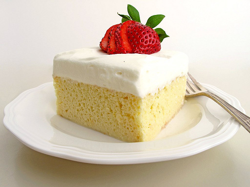 Tres Leches Cake Photos
