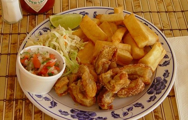 Images of Yuca frita