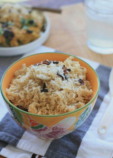 Burmese Coconut Rice Food of Myanmar Images