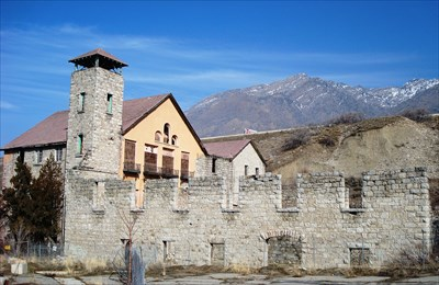 Haunted Places in Salt Lake City Cottonwood Paper Mill Images