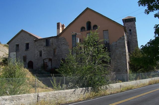 Haunted Places in Salt Lake Cottonwood Paper Mill Photos