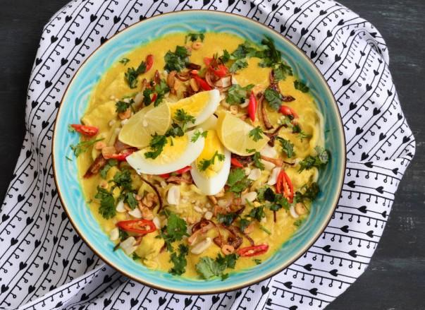 Khow Suey Food of Burma Image