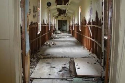 Real Haunted Houses in Utah Bellshire Hospital Photos