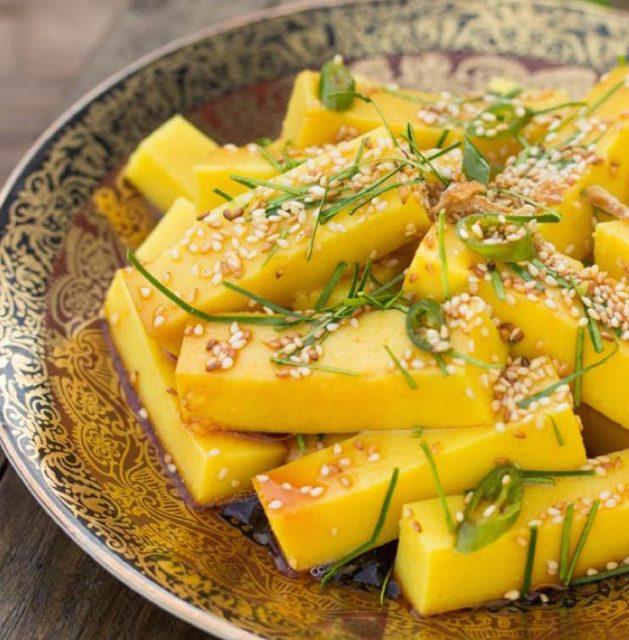 Shan Tofu Myanmar Food Photos