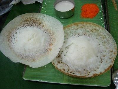 Appam Traditional Kerala Dish