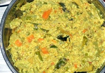 Avial Tasty Vegetarian Keralite Food