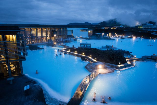 Blue Lagoon Hot Springs Iceland