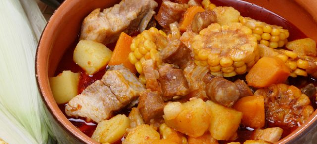 Carbonada Typical Chilean Food Photos