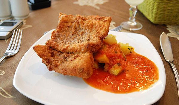 Congrio Frito Chilean Food Culture Images