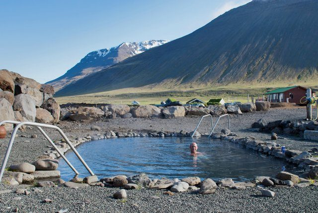 Grettislaug Hot Springs Iceland