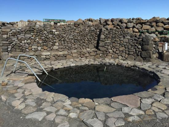 Grettislaug Hot Springs in Iceland