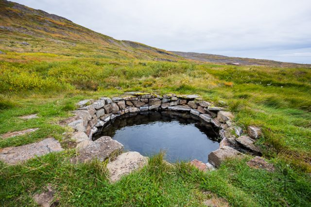 Gvendarlaug Hot Springs in Iceland