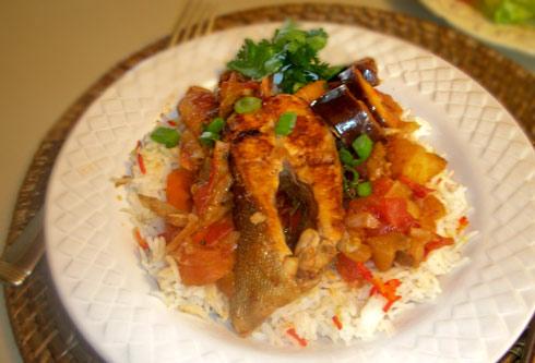 Kaluun Iyo Bariis Somali Foods