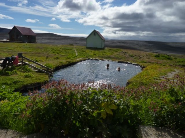 Laugafellslaug Iceland Hotsprings