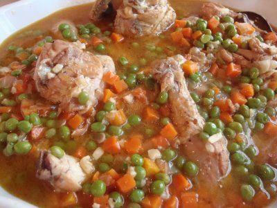 Pollo Arvejado Traditional Chilean Foods