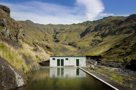Seljavallalaug Hot Springs Iceland