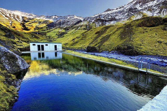 Seljavallalaug Icelandic Hot Springs
