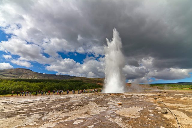 Strokkur Hot Springs Iceland