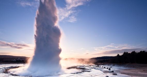 Strokkur Iceland Hotsprings