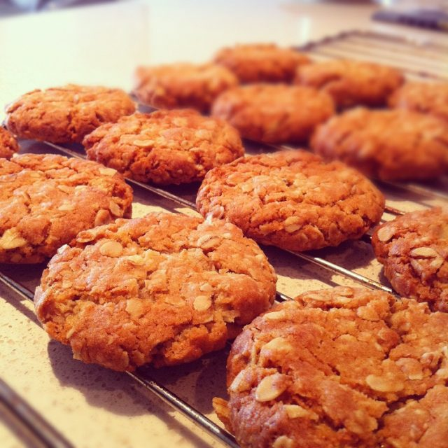 Anzac Biscuit Authentic Australian Food