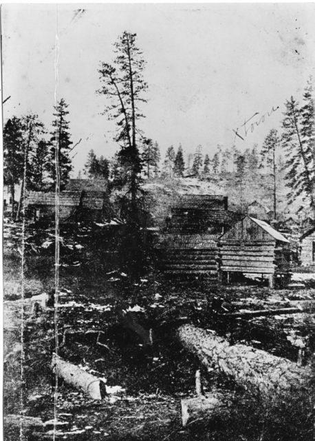 Auburn Best Ghost Town of Oregon