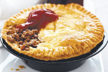 Aussie Meat Pie Popular Australian Food