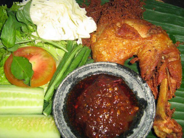 Ayam Goreng Indonesian Cuisine