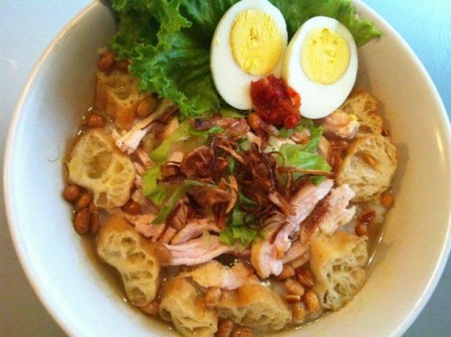 Babur Ayam Cuisine of Indonesia
