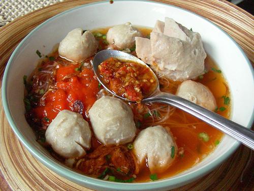 Bakso Indonesian Breakfast Food