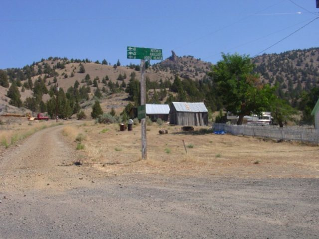 Central Oregon Ghost Town