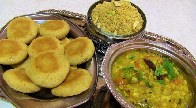 Dal Baati Churma Staple Rajasthani Food
